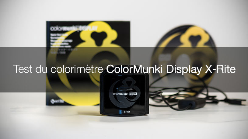 Kit ColorMunki Display