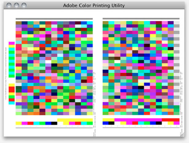 Adobe Color Printing Utility