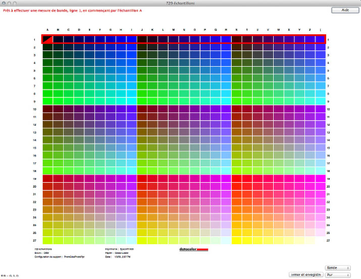 test du spyderprint de datacolor pour calibrer une imprimante par arnaud frich. Black Bedroom Furniture Sets. Home Design Ideas