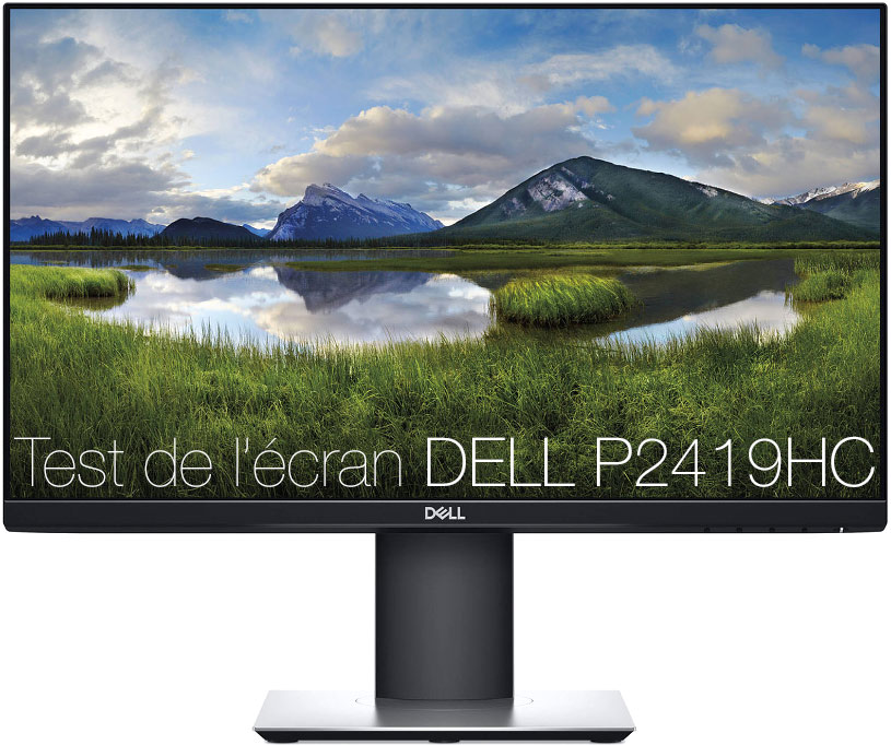 Test de l'Écran DELL P2419H