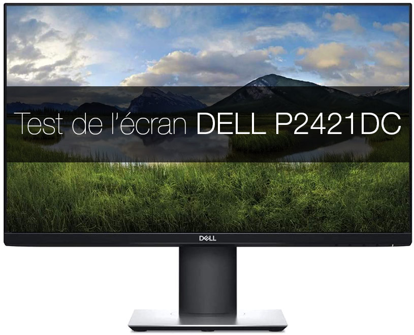Test de l'écran DELL P2421