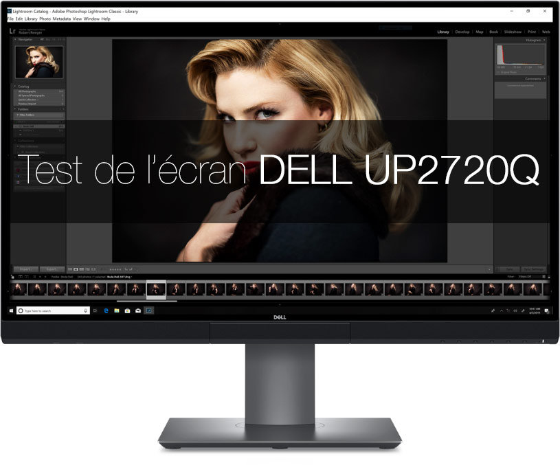 Test de l'Écran DELL UP2720Q - UHD