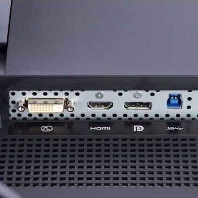 Connectique de l'Eizo CS2410