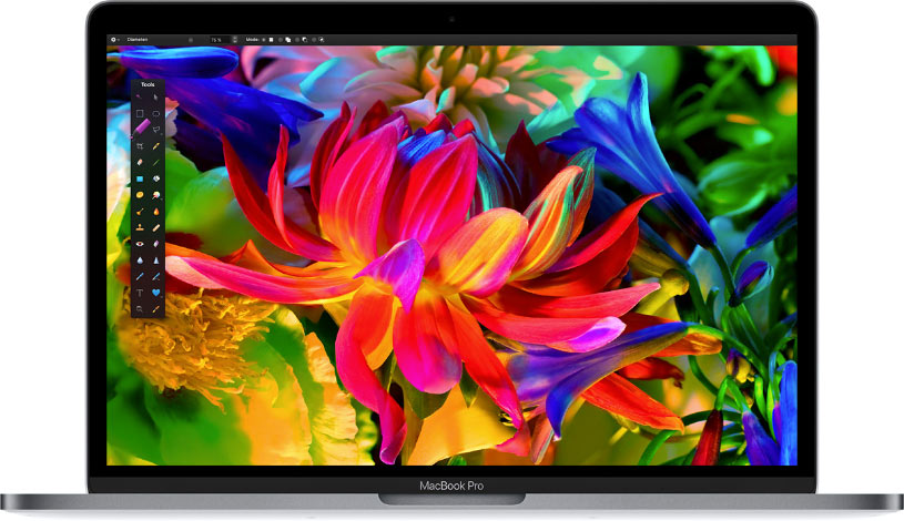 Dalle DCI-P3 des MacBook Pro 13 pouces Apple de 2017